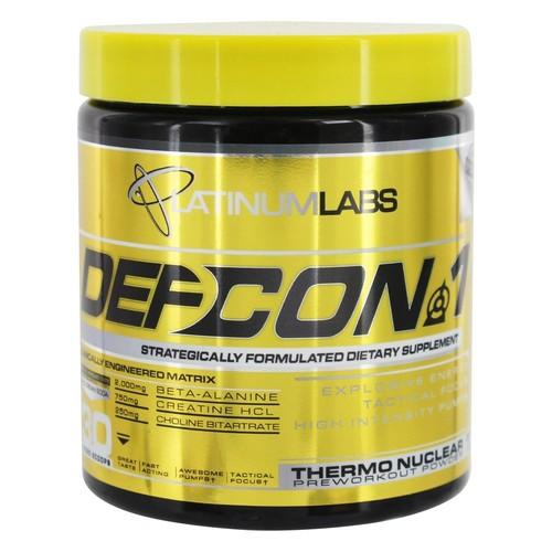 Platinum Labs - DefCon 1 Thermonuclear Preworkout Powder Red Cream Soda - 7.7 oz.