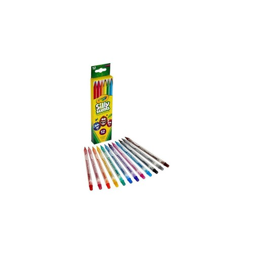 Crayola 68-7402 Silly Scents Twistables Colored Pencils