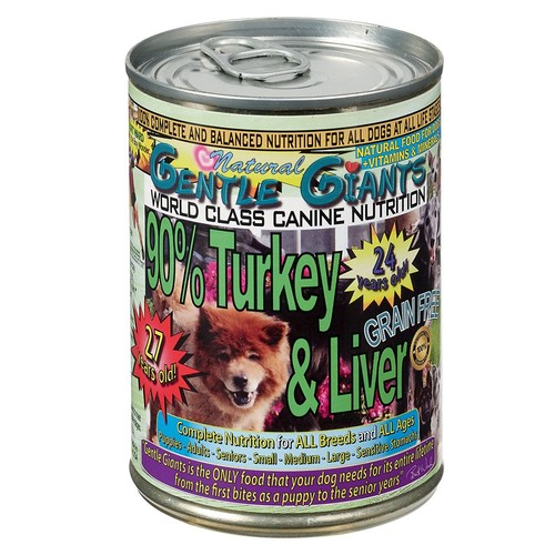Gentle Giants Dog Food - Natural, Turkey