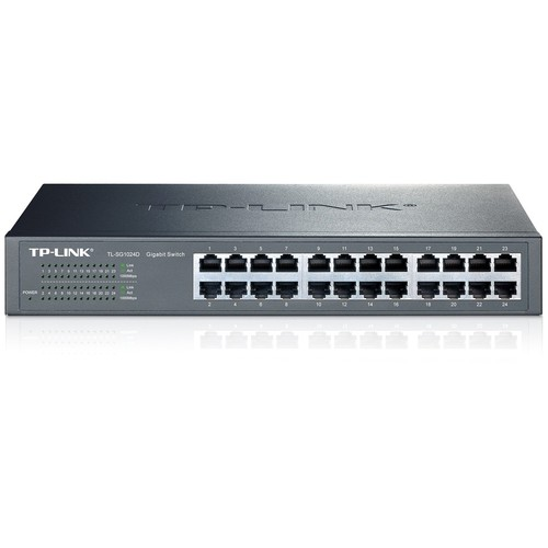 TP-Link TL-SG1024D 24 Port Gigabit Desktop Switch 10/100/1000M
