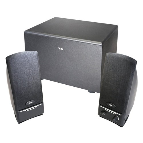 Cyber Acoustics CA-3000-1 2.1 Powered Computer Speaker System with Subwoofer