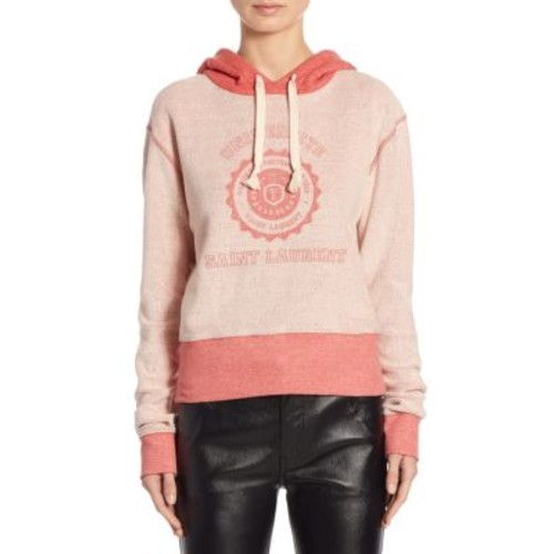 SAINT LAURENT Cotton Universite Sweatshirt