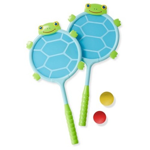 Melissa & Doug Sunny Patch Dilly Dally Racquet Set