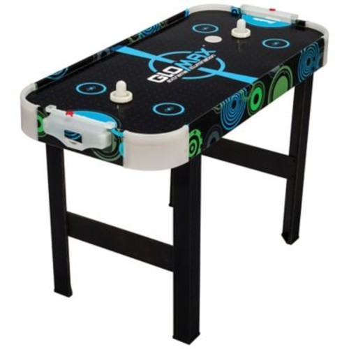 Franklin Sports Glomax 40-Inch Air Hockey Table in Black