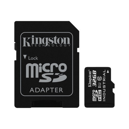 Kingston Digital Flash memory card (microSDHC to SD adapter included) - 32 GB - UHS Class 1 / Class10 - microSDHC UHS-I (SDCIT/32GB)
