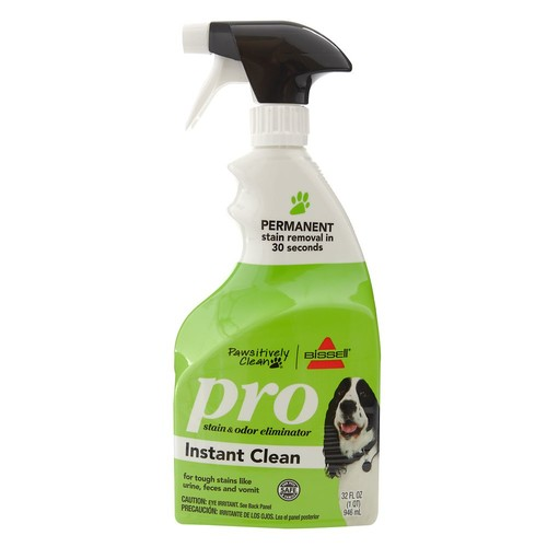 Bissell Pawsitively Clean Pro Pet Stain & Odor Eliminator Instant Clean