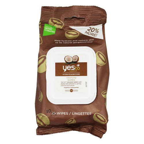 Yes To - Coconut Hydrate & Restore Cleansing Wipes - 30 Wipe(s)