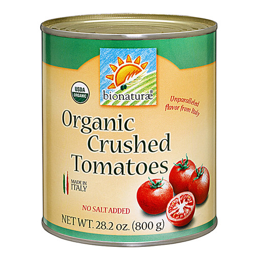 Bionaturae Organic Crushed Tomatoes -- 28.2 oz