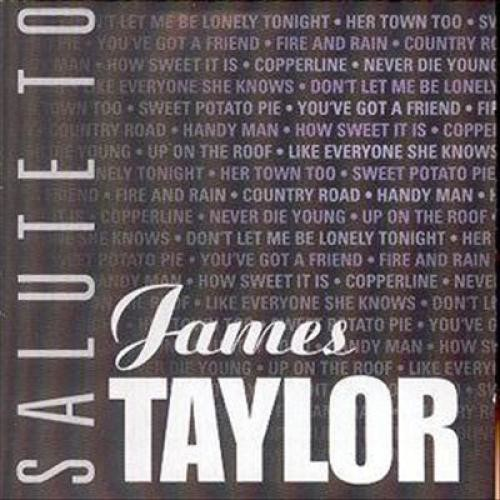Salute to James Taylor [CD]