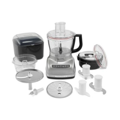 KitchenAid KFP1466CU - Food processor - 14 cup - contour silver