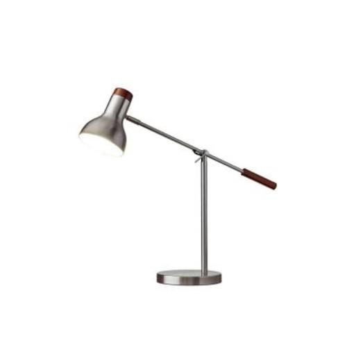 Adesso Watson 24 in. Matte Black Table Lamp