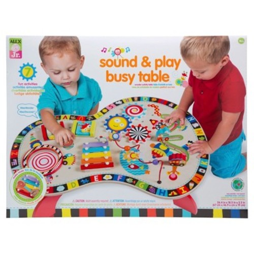 ALEX Jr. Sound & Play Busy Table Activity Center