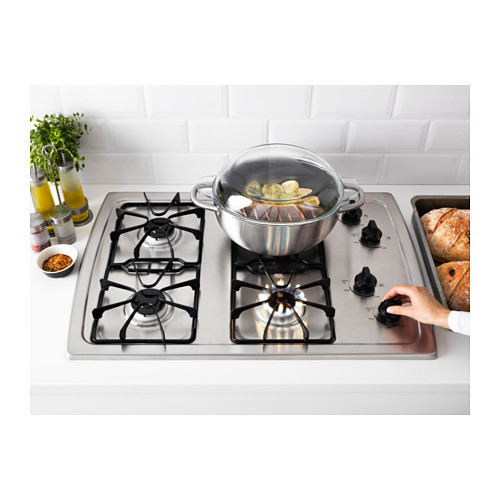 ELDIG 4 burner gas cooktop, Stainless steel