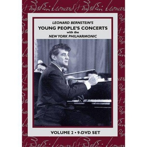 BERNSTEIN L-YOUNG PEOPLES CONCERTS VOL. 2 (9 DVDS) (DVD)