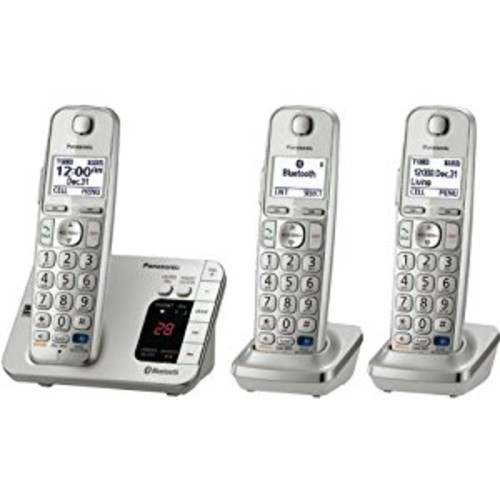 PANASONIC KX-TGE263S Link-to-Cell Bluetooth(R) Cellular Convergence Solution (3-Handset System)