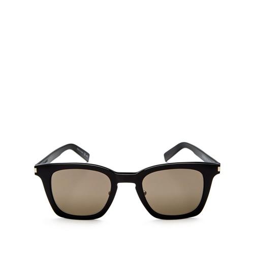 SAINT LAURENT Slim Square Sunglasses, 47Mm