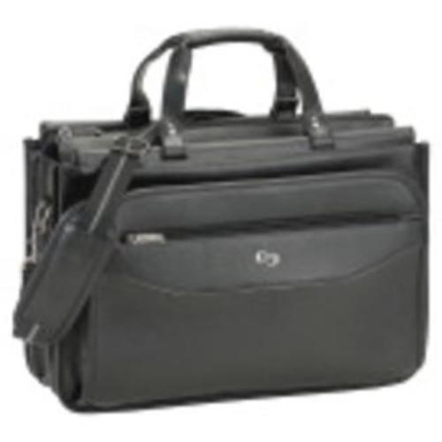 Sp Richards Co Briefcase Laptop Triple Gusset Black Uslcls3464