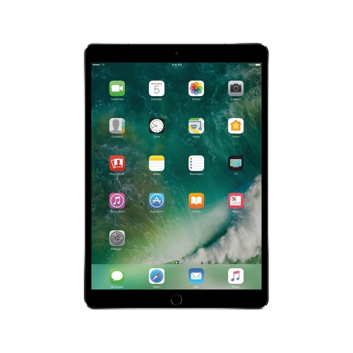 Apple - 10.5-Inch iPad Pro (Latest Model) with Wi-Fi + Cellular - 256GB (AT&T) - Space Gray