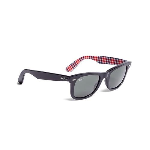 Ray-Ban Wayfarer Sunglasses with Gingham
