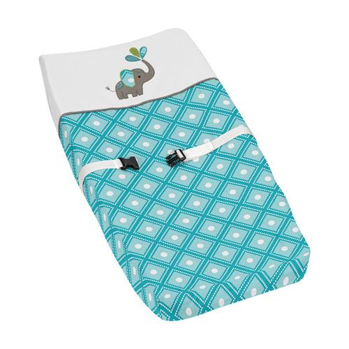 Sweet Jojo Designs Mod Elephant Changing Pad Cover