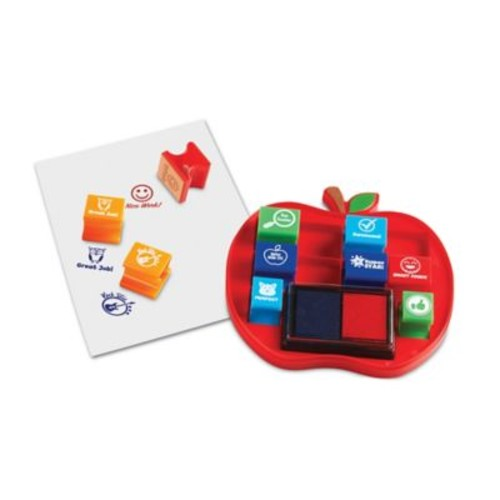 Learning Resources Pretend & Play School Stamp Set