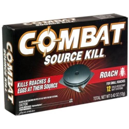 Combat Source Kill 1 Bait Stations, Roach, 12 bait stations