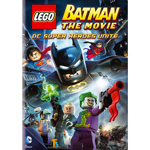 LEGO Batman The Movie: DC Super Heroes Unite DVD