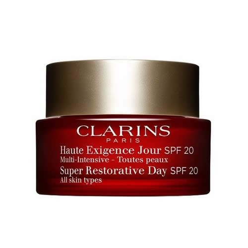 Clarins Super Restorative Day Cream SPF 20, 1.7 Ounce [1.7 Oz (SPF20)]