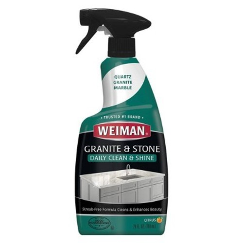 Weiman Granite Cleaner and Polish Spray - 24oz