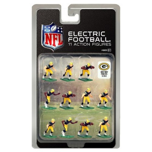 Tudor Games Green Bay Packers Dark Uniform NFL Action Figure Set