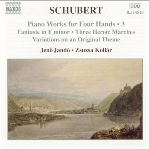 Schubert: piano Works For Four Hands V CD (2004)
