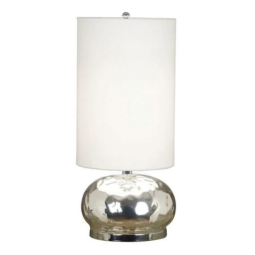 Kenroy Home Roxie Table Lamp, Mercury Glass