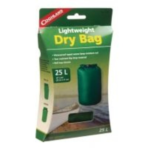 Coghlans Lightweight Dry Bag 10x20 Inches Green 1110 , Application: Hiking, Outdoor,