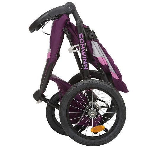 Schwinn Interval Jogger Stroller - Plum Blossom