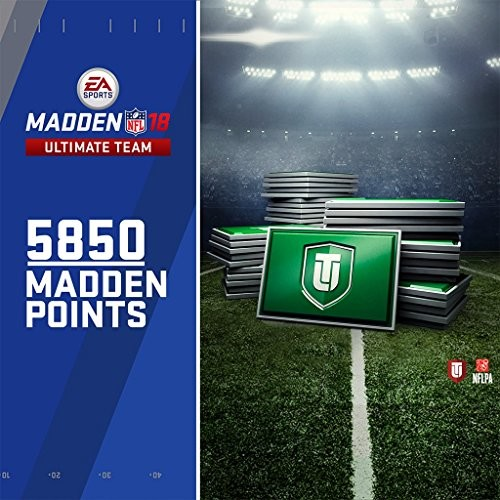 Madden NFL 18: 5850 MUT Points - PS4 [Digital Code] [Online Game Code, 5850 MUT Points, PlayStation 4]