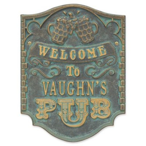 Whitehall Products Brew Pub Welcome Plaque