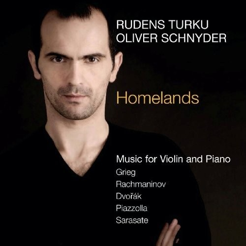 Homelands: Music for Violin and Piano [CD]
