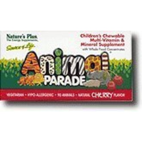 Nature's Plus - Childrens - Animal Parade Cherry 90