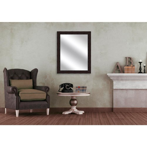 PTM Images 51.875 in. x 15.875 in. Medium Champagne Framed Mirror