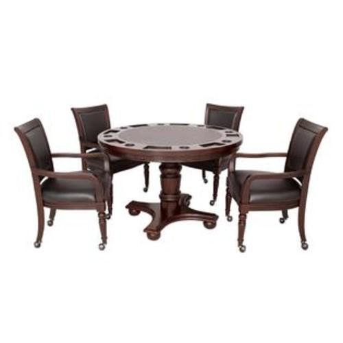 Hathaway Games Bridgeport 2-in-1 Poker Game Table Set