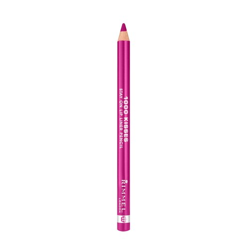 1000 Kisses Stay On Lip Liner Pencil, Indian Pink 004, 0.04 oz (1.2 g)
