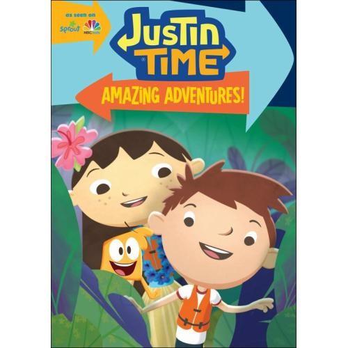 Justin Time: Amazing Adventures! [DVD]