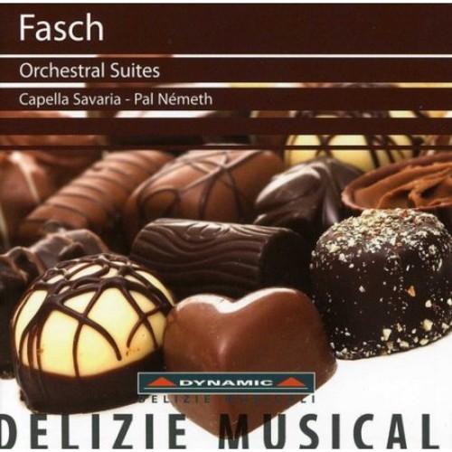 Johann Friedrich Fasch: Orchestral Suites [CD]