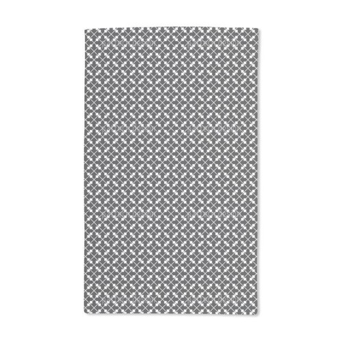 Square Couples in the Net Hand Towel (Set of 2)