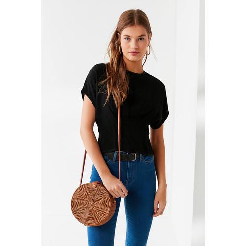 Circle Straw Crossbody Bag [REGULAR]