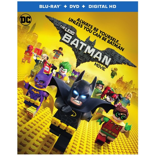 LEGO Batman Movie (Blu-ray / DVD / Digital HD)