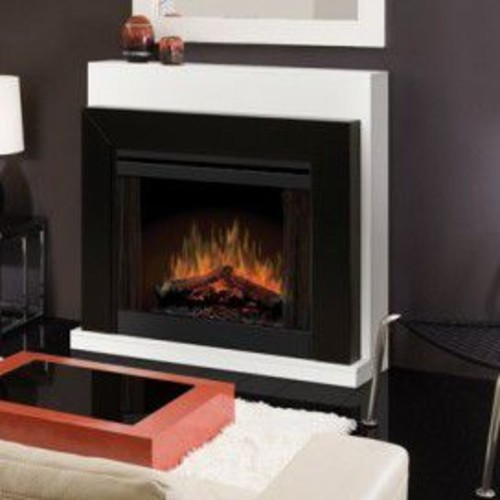 Dimplex 33'' Convertible Contemporary Electric Fireplace