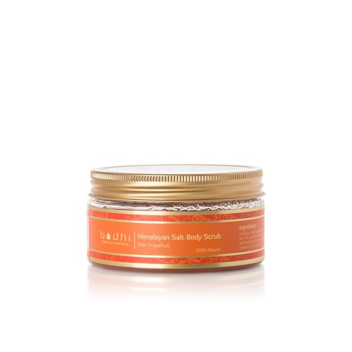 Invigorating Himalayan Salt Scrub Infused with Pink Grapefruit