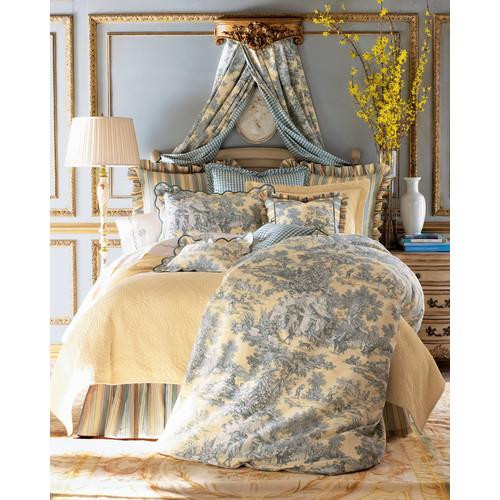 Lutece Cypress Toile Fabric, 3 yards x 54W