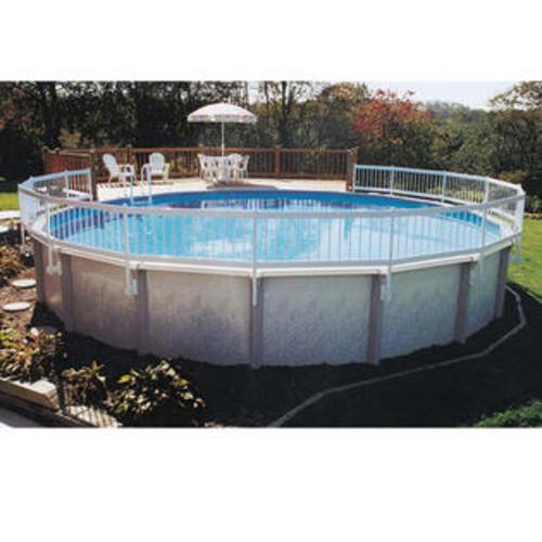 GLI Above Ground Pool Fence 8-Piece Base Kit